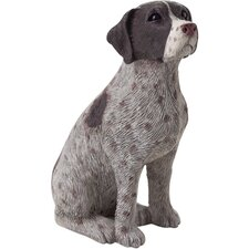 <strong>Sandicast</strong> Small Size Sculptures German Shorthaired Figurine
