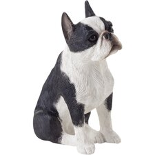 <strong>Sandicast</strong> Small Size Sculptures Boston Terrier Figurine