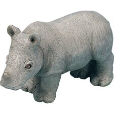 <strong>Sandicast</strong> Small Size Sculptures Rhinoceros Figurine