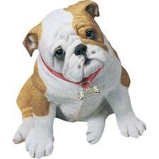 Life Size Bulldog Pup Sculpture