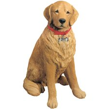 Life Size Sculptures Retriever Figurine