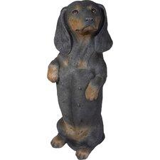 Life Size Sculptures Dachshund Figurine