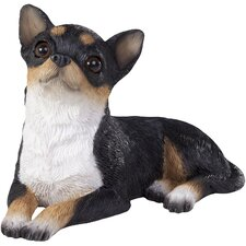 <strong>Sandicast</strong> Small Size Sculptures Chihuahua Figurine