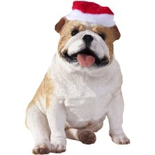 Bulldog Christmas Tree Ornament