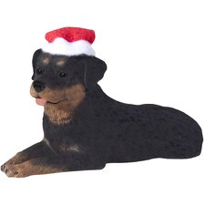 Rottweiler Christmas Tree Ornament