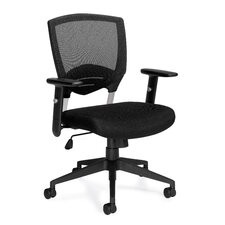 Mesh Manager Chair With Arms