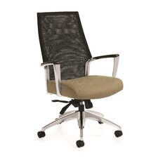 Global Accord Mesh High Back Chair with Arms