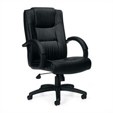 <strong>Offices To Go</strong> High-Back Leather Series Two Office Chair