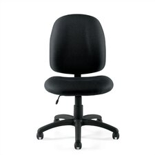 <strong>Offices To Go</strong> Mid-Back Armless Fabric Task Chair
