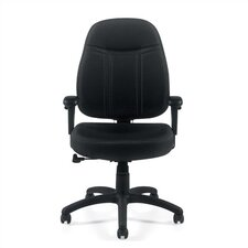 <strong>Offices To Go</strong> Mid-Back Fabric Office Chair with Arms
