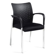 Stack and Guest Stack Chair with Arms