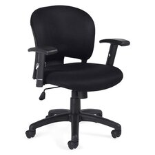 <strong>Offices To Go</strong> Low-Back Mesh Fabric Managerial Chair