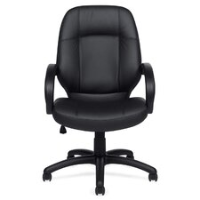 <strong>Offices To Go</strong> High-Back Luxhide Executive Chair