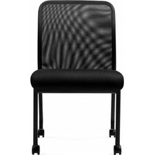 <strong>Offices To Go</strong> Stack and Guest Mesh Back Guest Chair