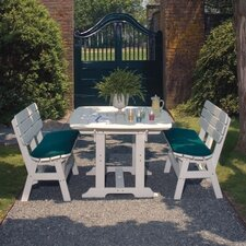 <strong>Seaside Casual</strong> Portsmouth 3 Piece Dining Set