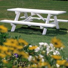 <strong>Seaside Casual</strong> Picnic Table with Bench