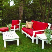 <strong>Seaside Casual</strong> Nantucket Deep Seating Group with Cushions
