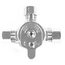 Mechanical Mixing Valve in Chrome Plate Finish