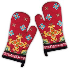 La Cocina Stripe Oven Mitt (Set of 2)