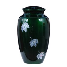Falling Maple Leaf Adult Urn