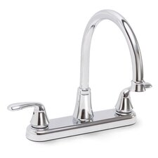 Waterfront 2 Handle Centerset Kitchen Faucet with Optional Side Spray
