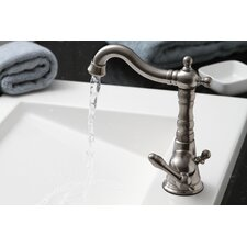 Charlestown Single Handle Bathroom Faucet with Optional Pop-Up Drain