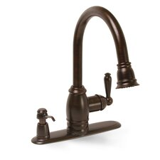 Sonoma Pull Down Kitchen Faucet with Matching Soap Dispenser
