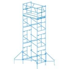 19' H x 8.5' W x 6' D Homebuilder Scaffold Tower