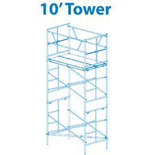 Homebuilder 10' Scaffold Tower with Leveling Jacks