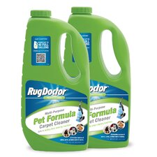 2 pk 60 oz Pet Formula Carpet Cleaner