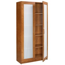"35.63""  Framed 2 Door Storage Cabinet"