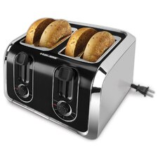 <strong>Black & Decker</strong> 4-Slice Toaster