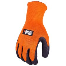 Textured Rubber Dip Palm Work Glove
