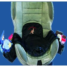 Seat Protector with Adjustable Pockets