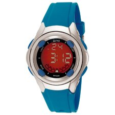 Midsize Digital Multi-Function Watch in Blue