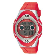 Men's Digital Watch in Red