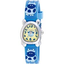 Juniors Cow Design Watch