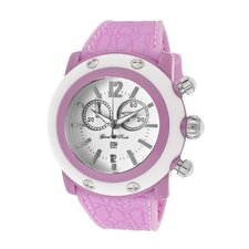 <strong>Glam Rock</strong> Women's Miami Beach Chronograph Round Watch