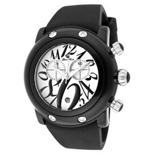 Women's Miami Beach Chronograph Enamel Round Watch