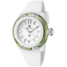 Women's Miss Miami Beach Polyurethane Round Watch