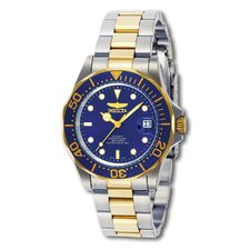 Men's Automatic Diver Professional Two Tone Watch