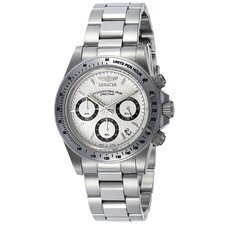 Men's Speedway Chronograph Stainless Steel Watch