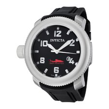 Men's Russian Diver/Sea Polyurethane Round Watch