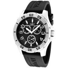 Men's Specialty Polyurethane Round Watch
