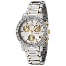 Women's Invicta II Chronograph Diamond Round Watch