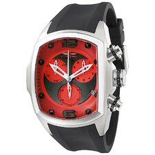 Men's Lupah Revolution Chronograph Rectangle Watch