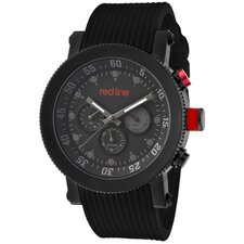 Men's Compressor Silicone Round Watch