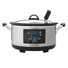 Set n' Forget 6 Qt. Programmable Slow Cooker