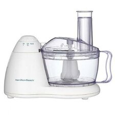 8 Cup Bowl Food Processor in White