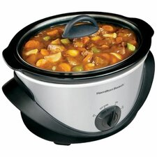 4-Quart Oval Slow Cooker